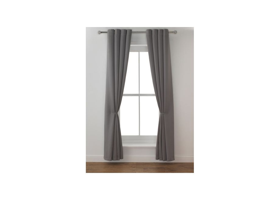Set 2 Draperii Collection Twilight Grey Mist, 117x183cm/buc.