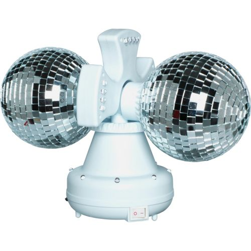 Twin Disco Ball Rotativ