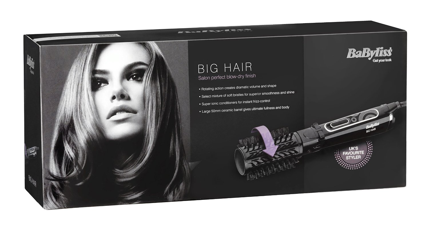 Perie rotativa BaByliss Big Hair, 700 W