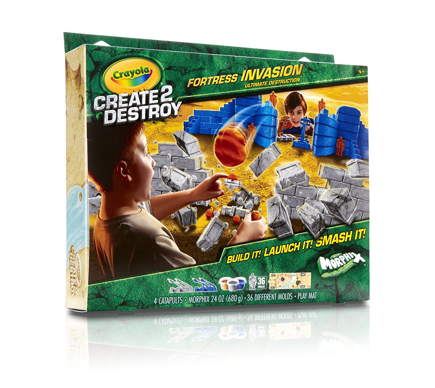 Joc Crayola Create 2 Destroy Fortress Invasion