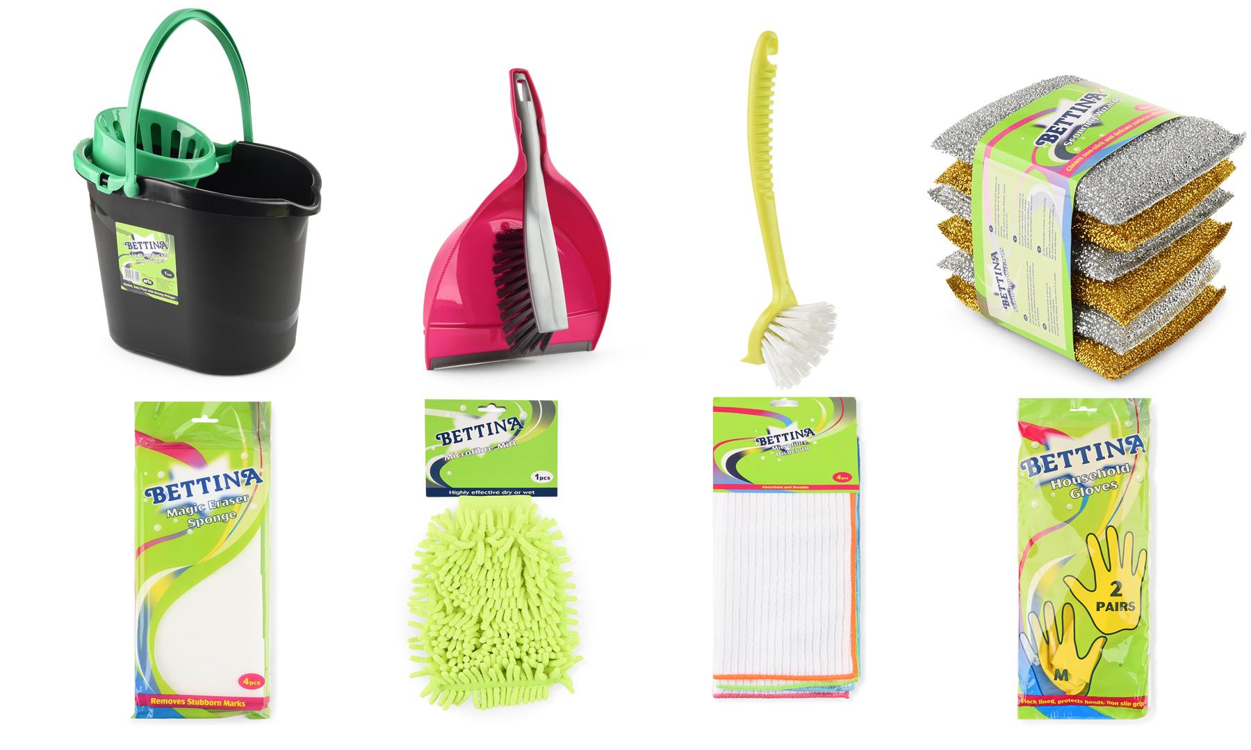 Set de curatenie bettina household cleaning set - Limpieza de casas groupon ...
